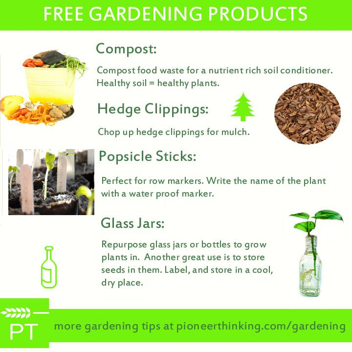 Free Gardening Products
