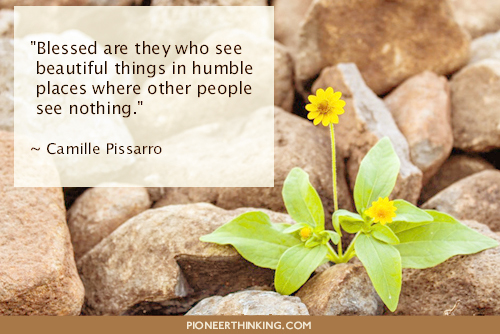 Beautiful Things in Humble Places - Camille Pissarro