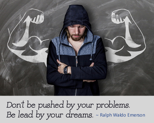 Don't Be Pushed - Ralph Waldo Emerson