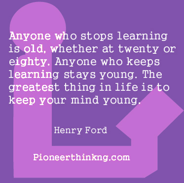 Learning - Henry Ford