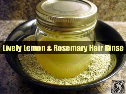 Healthy Hair with a Great Hair Rinse