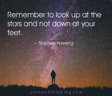 Look Up At The Stars Stephen Hawkings