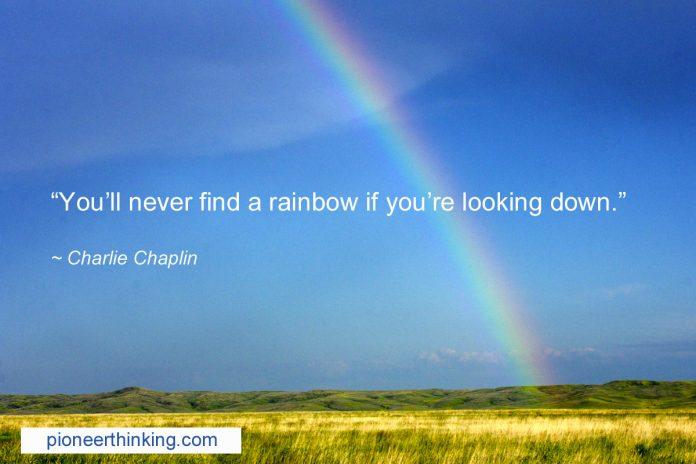 Finding a Rainbow - Charlie Chaplin