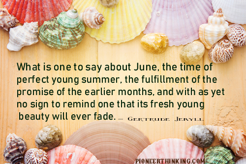 Perfect Young Summer - Gertrude Jekyll