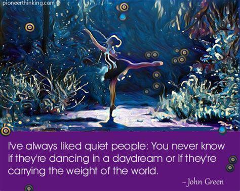 I've Always Liked Quiet People