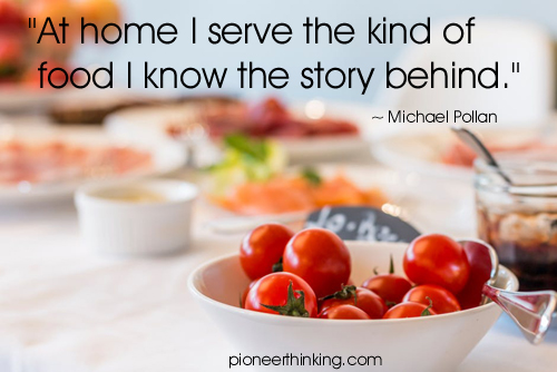 Food I Serve - Michael Pollan