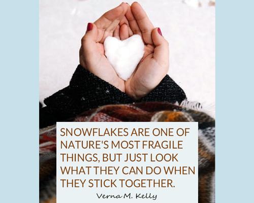 Snowflakes - Verna M. Kelly