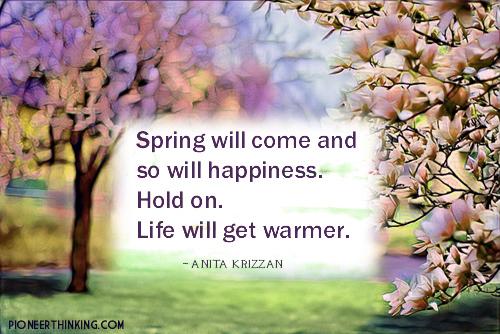 Life Will Get Warmer - Anita Krizzan