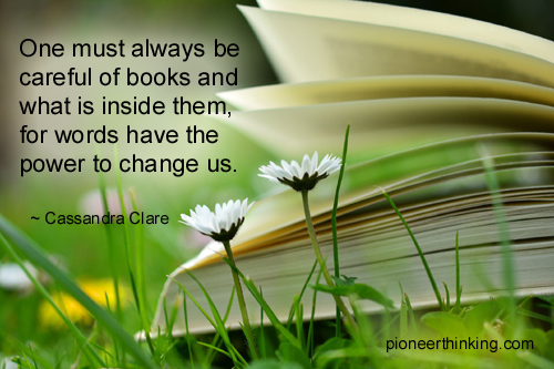 Be Careful of Books - Cassandra Clare