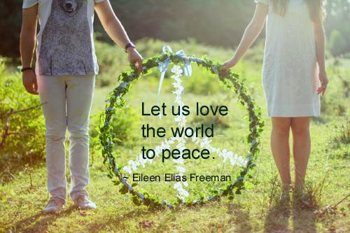 Eileen Elias Freeman quotes