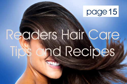 Readers Hair Care Tips