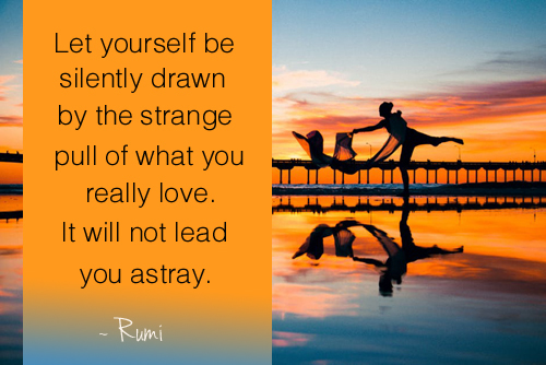 Let Yourself be Silently Drawn - Rumi