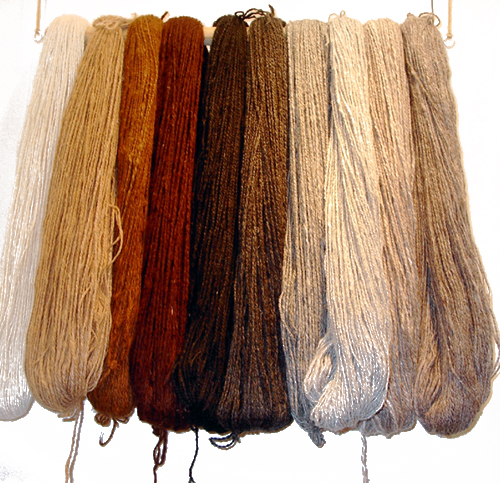 Different Types of Wool from Alpaca Farming