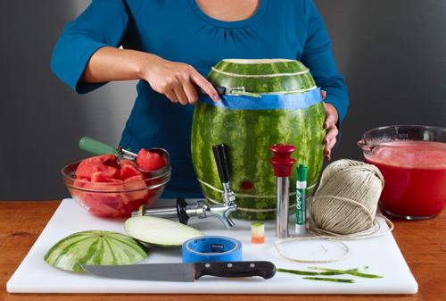 Watermelon Keg instructions