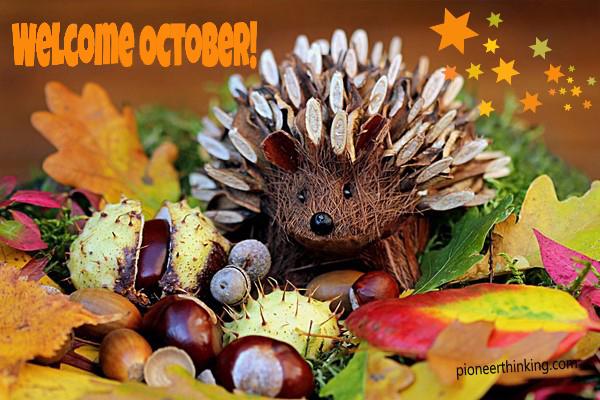 Welcome October!